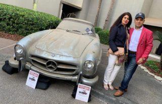 В США за $1 млн продают редкий Mercedes 300SL Roadster 1960 года выпуска