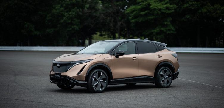 Nissan назвал японскую цену первого электрического внедорожника Ariya