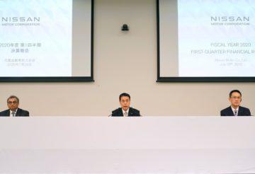 За апрель-июнь 2020 года Nissan показал чистый убыток на 2,7 млрд долларов