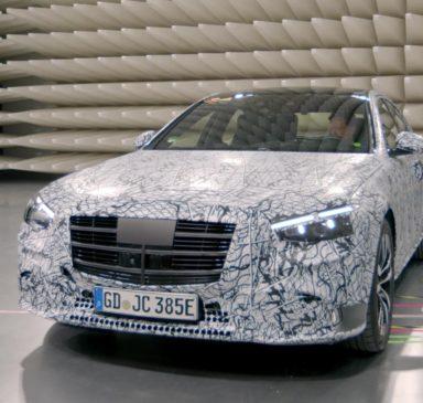 Mercedes запускает отдельное шоу для нового S-Class