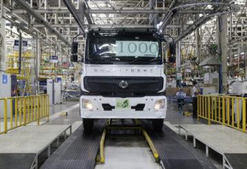 Daimler захватывает рынок экологичных грузовиков в Индии
