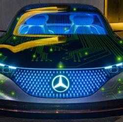 Mercedes и NVIDIA договорились о разработке ИИ для автопилота