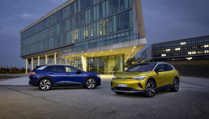 Электромобиль Volkswagen ID.4 начинает поставляться в Европу, США и Китай