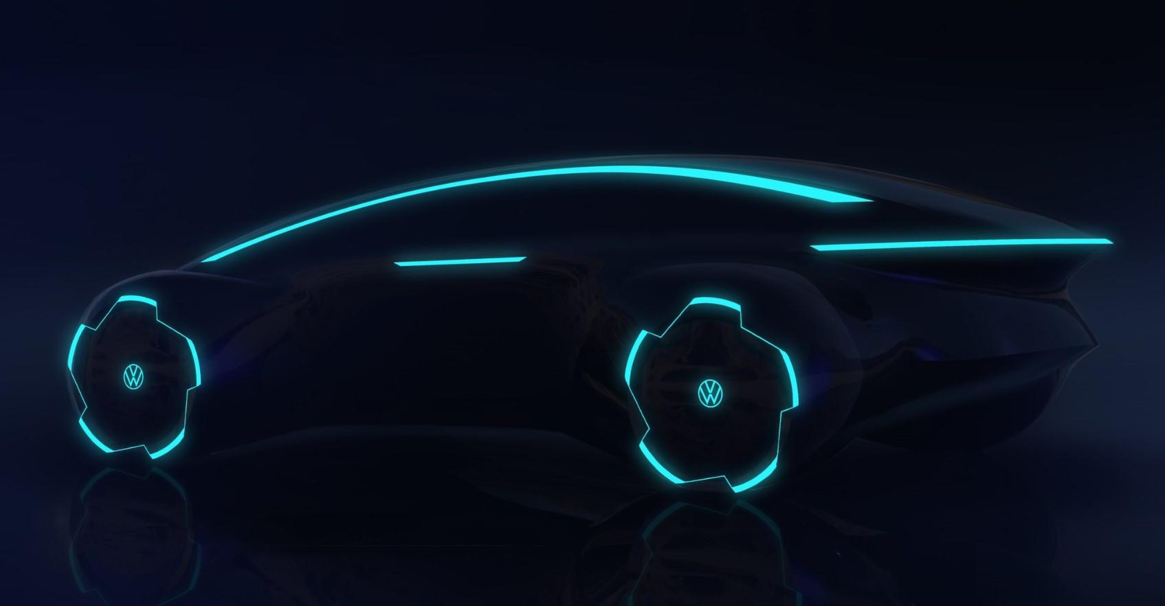 Volkswagen хочет запустить массовый электромобиль с автопилотом Trinity