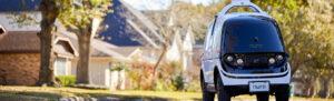 Toyota инвестировала в компанию по созданию роботов-курьеров Nuro