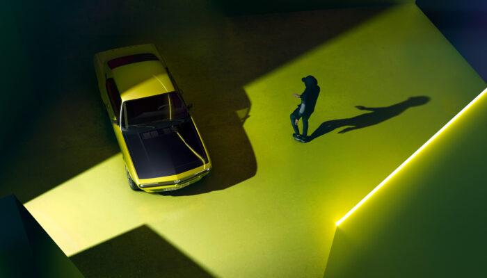 Opel презентовал современную версию модели 1970 года на электромоторах