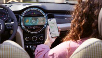 Приложение для автомобиля MINI запустили в России с конца марта