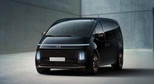 Hyundai презентовал новый минивэн Staria с «космическим дизайном»