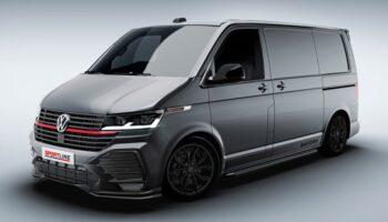 Volkswagen показал Transporter Sportline за 4,4 млн рублей для Великобритании