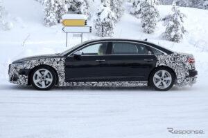 Конкурента Mercedes-Maybach S-Class длинный седан Audi A8 Horch сфотографировали фотошпионы