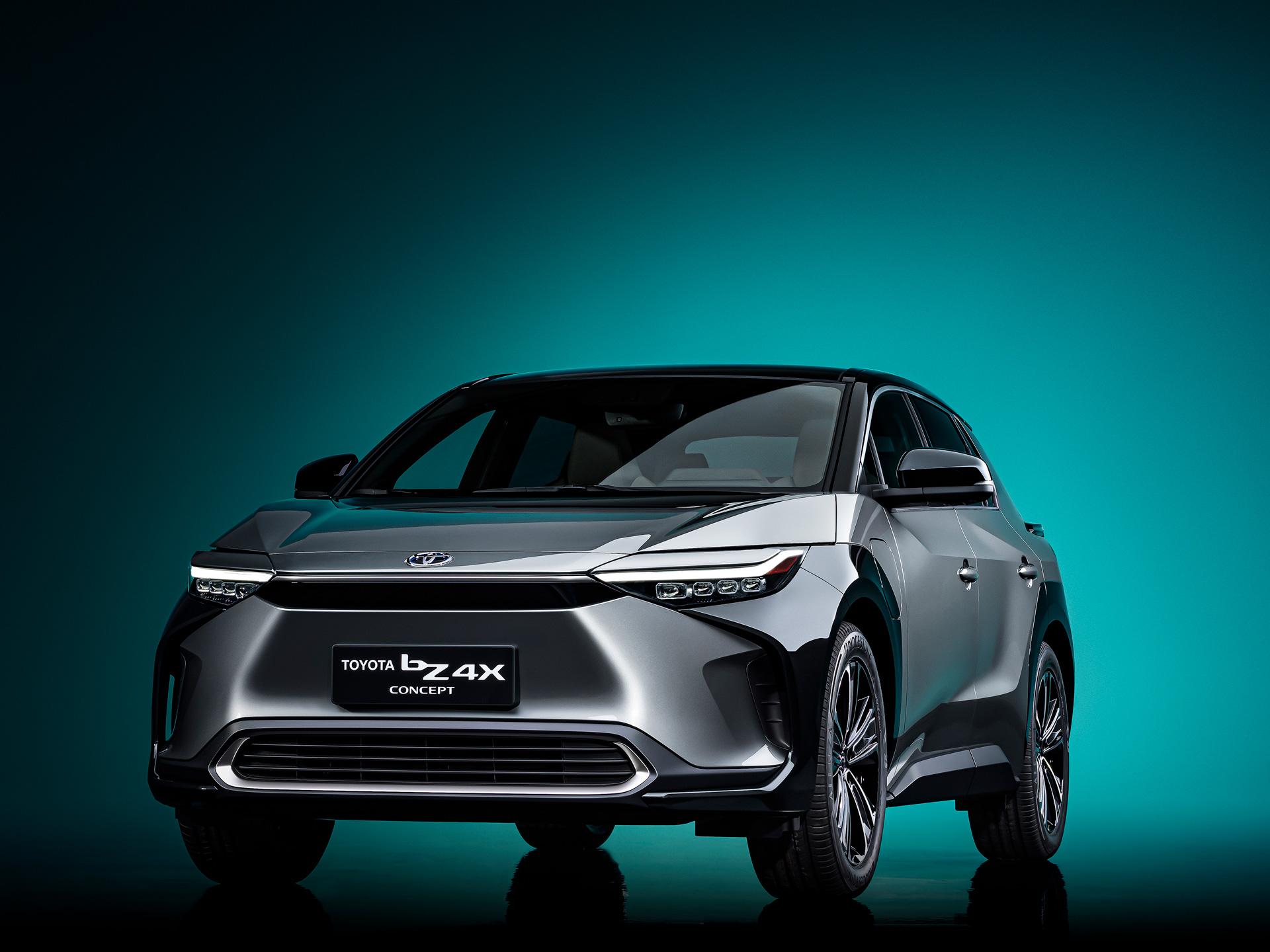 Toyota презентовала «электрический RAV4» bZ4X на автосалоне в Шанхае