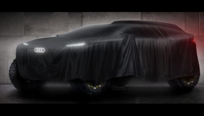 Audi готовит электромобиль для ралли в пустыне Dakar-2022