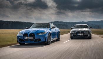 Полный привод в BMW M3 и M4 станет доступен в максимальных комплектациях