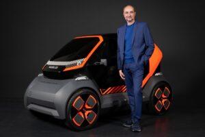 Renault начинает тестировать электрический седан для такси