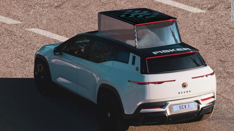 Электрический папамобиль от Fisker был показан на фотографиях