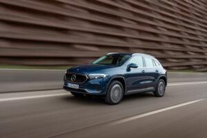 Плюс бесплатная зарядка на год: электромобиль Mercedes EQA сделали полноприводным