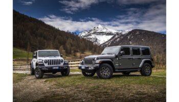 Гибридный Jeep Wrangler сможет проезжать 50 километров только на электричестве