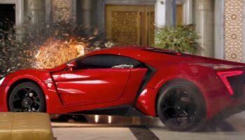 Трюковый автомобиль из «Форсаж-7» Lykan HyperSport выставят на аукцион