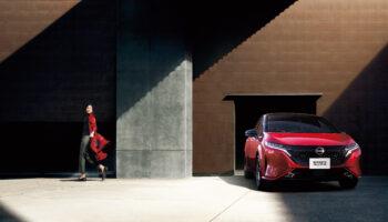 Новый электромобиль Nissan Note Aura e-POWER презентовали в Японии