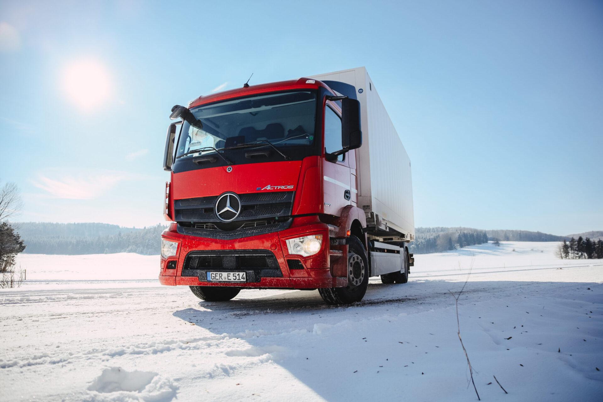 Электрический грузовик Mercedes eActros будет презентован официально 30 июня