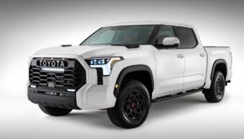 После утечки изображений Toyota опубликовала фото пикапа Toyota Tundra 2022 года