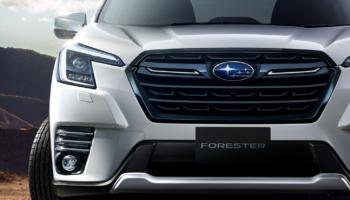 Subaru Forester получил рестайлинг пятого поколения спустя четыре года после выхода
