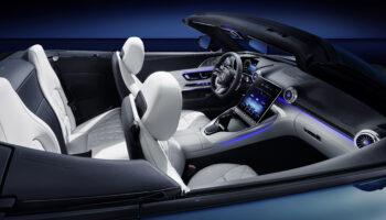 Mercedes-AMG официально показал салон нового родстера SL
