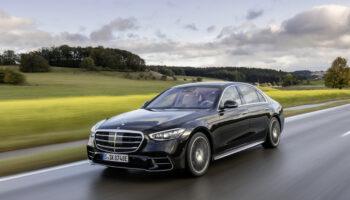 Гибридный Mercedes S-Class 580e начали продавать в автосалонах Европы
