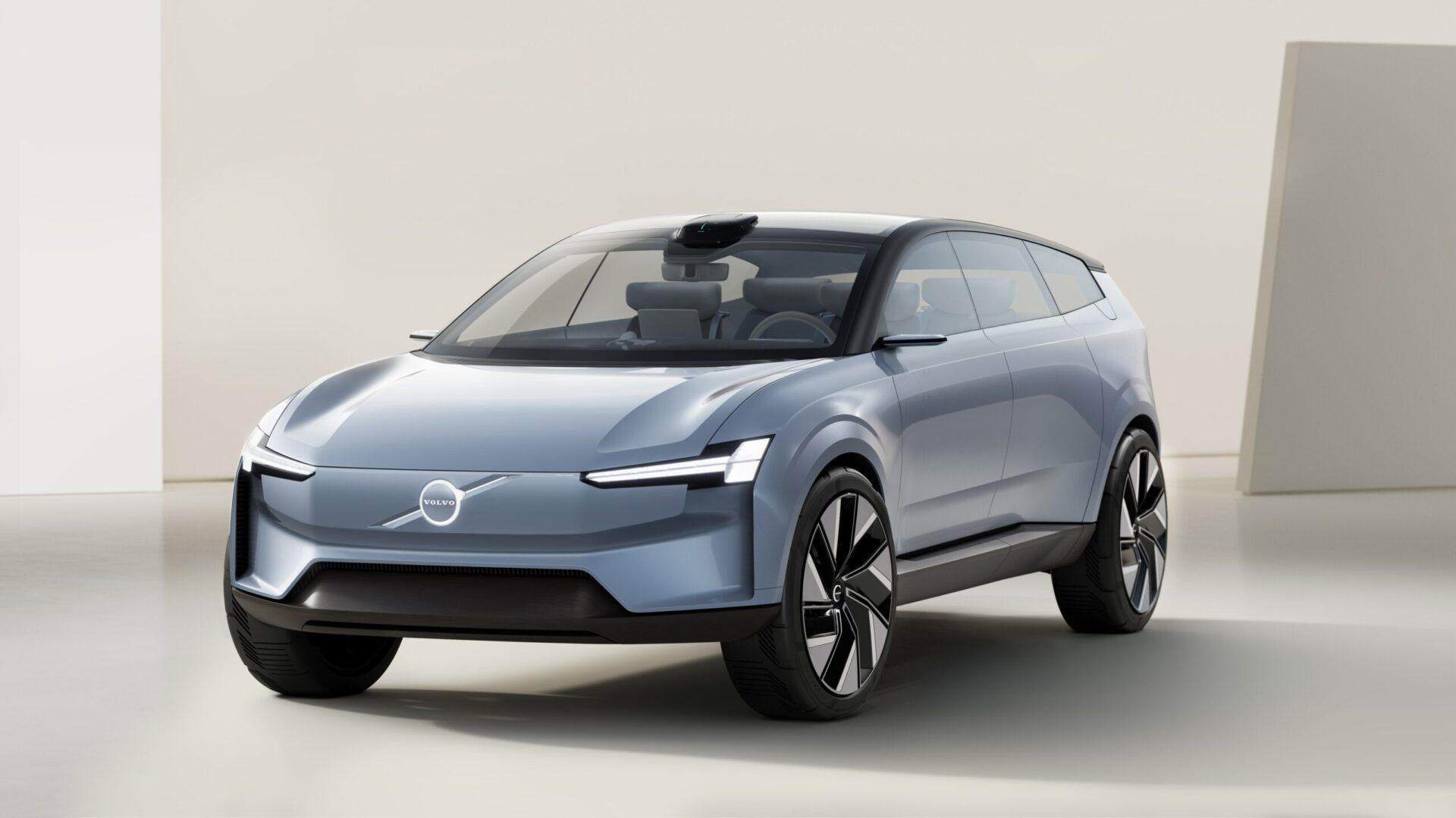 Volvo показал концепт полностью электрического XC90