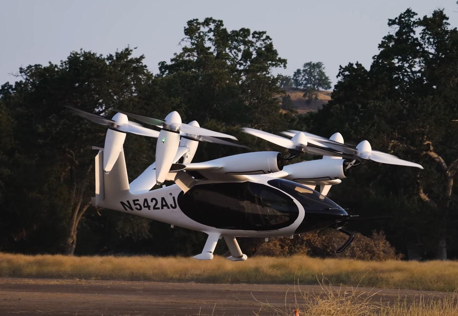 В США электрическое аэротакси Joby Aero пролетело больше 240 км без подзарядки