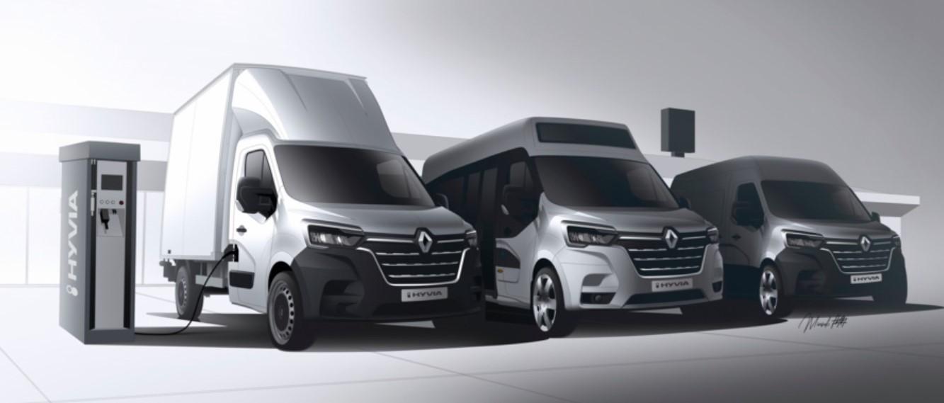 Renault до конца 2021 года предложил водородные фургоны и микроавтобусы Hyvia
