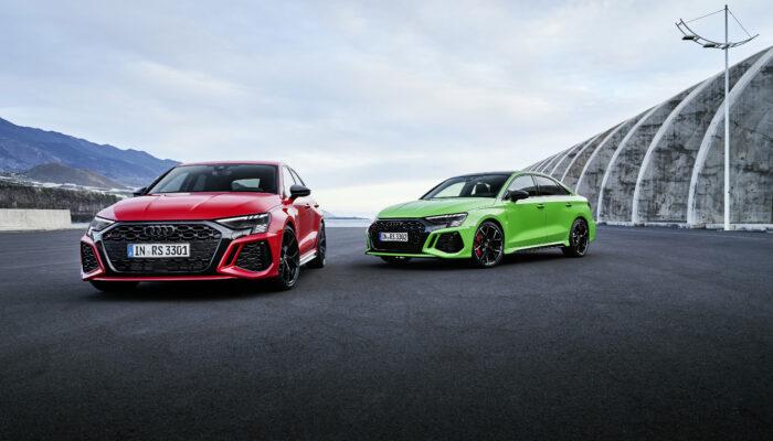Audi презентовала новое поколение автомобилей RS3