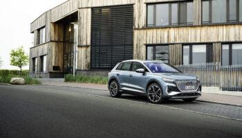 Электромобиль Audi Q4 e-tron получил полноприводную версию Quattro
