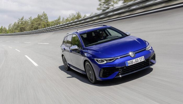 Volkswagen объявил о старте продаж мощного универсала Golf R в Европе
