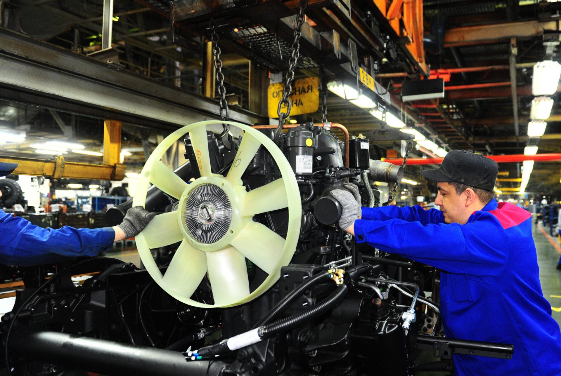 КамАЗ планирует производить по 220 автомобилей в сутки с сентября 2021 года