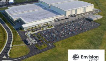 Nissan строит полностью энергонезависимый завод по производству электромобилей в Европе