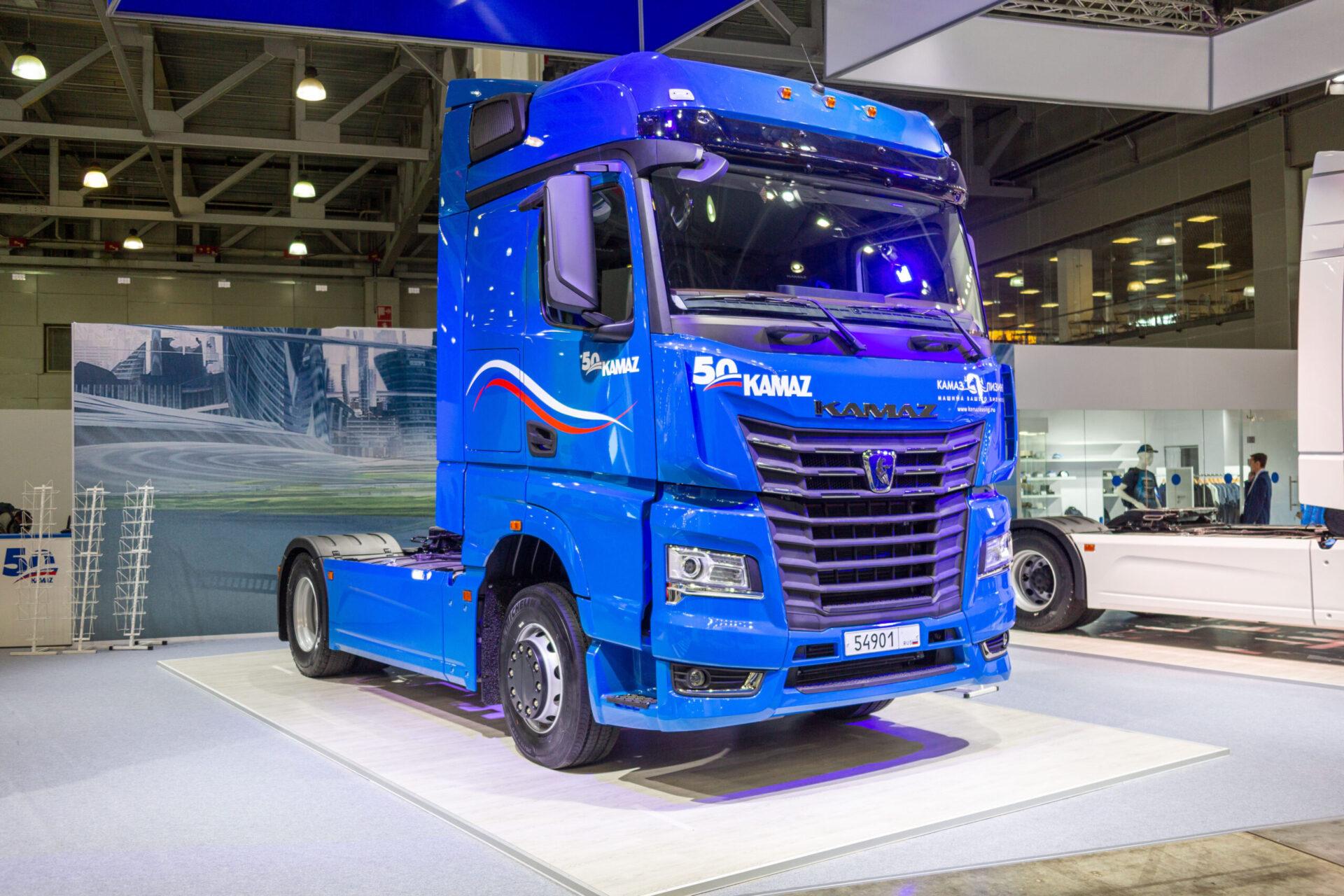 КамАЗ планирует поставлять автомобили поколения K5 в Азербайджан