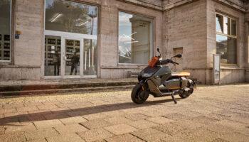 BMW раскрыла технические характеристики нового электроскутера CE 04