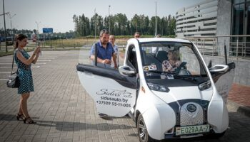Электромобиль Sidus A01 из Беларуси могут поставить в Россию