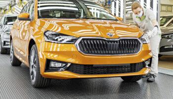 Skoda запустила производство новой хетчбека Fabia четвертого поколения