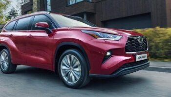 Toyota может выпустить кроссовер Grand Highlander в 2023 году