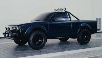 Пикап из фильма «Назад в будущее» превратили в серийный электромобиль Alpha Wolf