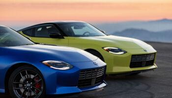 Компания Nissan представила спорткар Nissan Z нового седьмого поколения