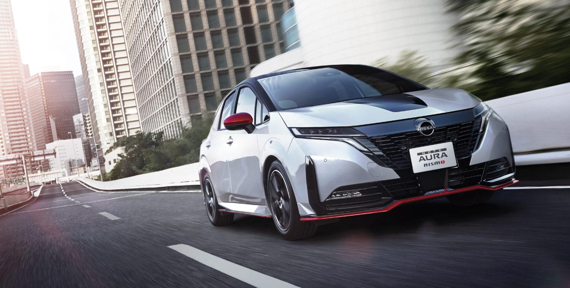 Хэтчбек Nissan Note нового поколения получил гибридную спортивную версию NISMO