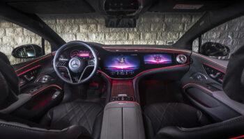 Mercedes запустил продажи электромобиля EQS с 10 августа 2021 года