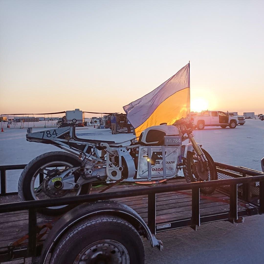 Электрический мотоцикл «Днепр» побил свой прежний рекорд скорости