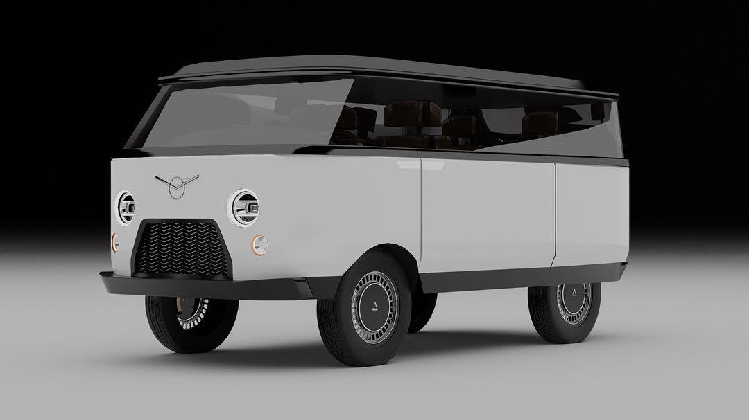 В РФ опубликованы рендеры абсолютно нового УАЗ 452 «Буханка»