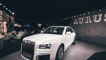 Российский премиальный автомобиль Aurus на водороде дебютирует 2 сентября на ВЭФ-2021