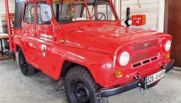 УАЗ показал свой внедорожник для пожарных в Германии