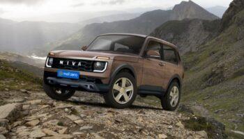 Обновленный внедорожник LADA Niva Legend показали на рендерных изображениях «Авто Mail.ru»